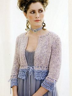 Augustine from #014 - Dauphine by at KnittingFever.com