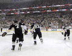 Sidney Crosby Pittsburgh Penguins vs Philadelphia Flyers Game 2 April 13