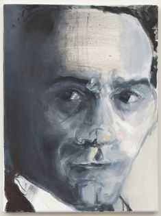 Marlene Dumas, 'Pasolini', 2012  Oil on canvas  15 7/10 × 11 4/5 in  40 × 30 cm  © Marlene Dumas, photo: Peter Cox Image provided by: The Stedelijk Museum