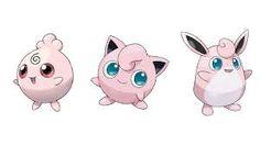 Resultado de imagen para pokemon jigglypuff evoluciones
