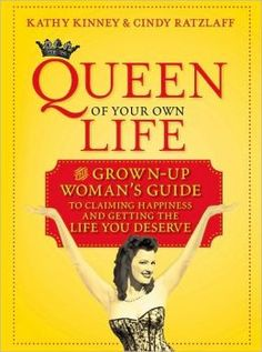 "Adventure Diva Bookshelf: ""Queen of Your Own Life: The Grown-Up Woman's Guide to Claiming Happiness and Getting the Life You Deserve""  Remember Mimi from ""The Drew Carey Show""? She was played by actress Kathy Kinney who couldn't be more opposite, and who now hosts a cool little blog called ""Queen of Your Own Life"" with her friend, Cindy Ratzlaff, sharing the same wisdom in this book with the intention of helping women claim happiness in midlife. #EstrogenArmy #adventure #survival #women…"
