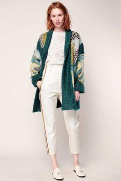Pantalon écru à galons dorés Faisan #promotion