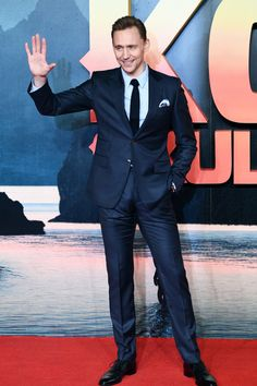 "Tom Hiddleston attend the European premiere of ""Kong: Skull Island"" at the Cineworld Empire Leicester Square on February 28, 2017 in London, United Kingdom. Source: downeyjrs.tumblr.com"