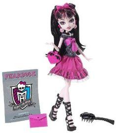 Monster High - Muñeca Draculaura (Mattel Y8493): Amazon.es: Juguetes y juegos