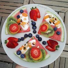 """Recetas Verofortyfit     """"Healthy and Delicious Food"""": PIZZA DE SANDÍA"""