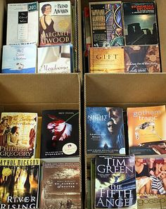 """This site lets you buy """"Boxed Shelf Filler"""" Books for $11.99 a box (approx. 60+/- books). Wonderful for literary themed wedding favors!"""