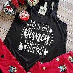 Check out this item in my Etsy shop https://www.etsy.com/listing/590614552/disney-shirts-disney-wasted-flowy-tank