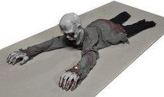 Animated Halloween Crawling Zombie