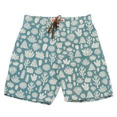 Mollusk Cactus Print Nylon Board Shorts | Valet.