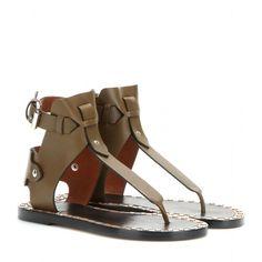 I love these Isabel Marant Jayson Leather Sandals  ^•^