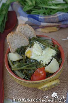 Acquacotta cicoria e uovo della Tuscia - In cucina con Zia Ralù