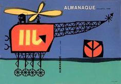 Sebastião Rodrigues - Revista Almanaque Novembro 1960