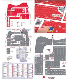 Arndale Shopping Centre Floor Plans and Directory