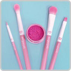Sugarpill Cosmetics - Valentines Day Bundle - Smitten / Brush Set... TO DIE FOR!!!!