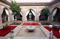 Riad Jawad, Galerie Photos 2 - Fontaine - Riad, Riad Marrakech: Location de Riad et villa Marrakech, Riads Marrakech.