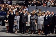 Así fue, hace 20 años, la despedida al rey Balduino y la coronación de Alberto II de Bélgica