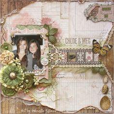 Searchsku: Chloe & Meg **Bo Bunny ~ Garden Journal**