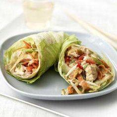 Thajský kuřecí salát