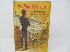 It's Like This, Cat by Emily Neville - 1963 - FREE shipping by CellarDeals on Etsy