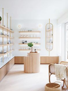 We Want to Live in This Chic-to-Death Skincare Boutique in L. – Magda Korte We Want to Live in This Chic-to-Death Skincare Boutique in L. We Want to Live in This Chic-to-Death Skincare Boutique in L. Commercial Design, Commercial Interiors, Commercial Lighting, Design Comercial, Salon Interior Design, Interior Shop, Salon Design, Interior Decorating, Boutique Shop Interior