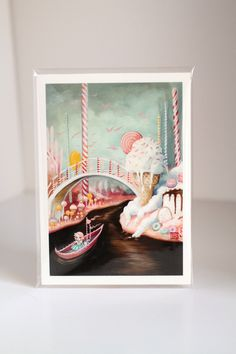 The Candy Canal - Limited Edition signed and numbered 5x7 Fine Art Print by Mab Graves -unframed