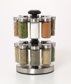 Kamenstein 16 Jar Lexington Spice Rack