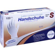 HANDSCHUHE Einmal Latex gepudert S:   Packungsinhalt: 100 St Handschuhe PZN: 04818973 Hersteller: Param GmbH Preis: 4,84 EUR inkl. 19 %…