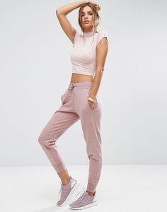 Keep it casual and comfy with ASOS' Marl Joggers