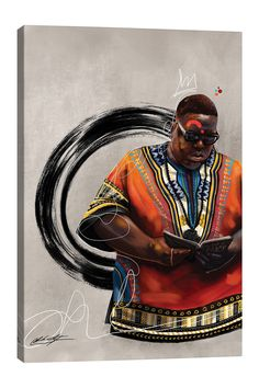 Canvas Artwork, Canvas Art Prints, Black Artists, Black History Month, Fine Art, Wood Bars, Art Paintings, Wrap Style, African Diaspora