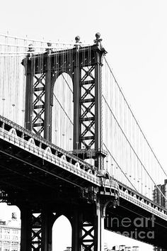 Manhattan Bridge This is a photograph of the Manhattan Bridge in New York City.