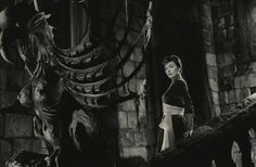 "Gianna Maria Canale in ""I Vampiri"" (The Vampires)  Dir. Riccardo Freda & Mario Bava (uncredited), Italy, 1956"
