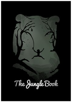 Disney's The Jungle Book Poster by rowansm on Etsy, $20.00