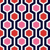 Spoonflower - ABP jazzy lattice fabric by Amy Bethune Photography.
