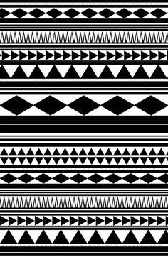 Tribal pattern wallpaper black and white Tribal Art, Tribal Prints, Art Prints, Maori Band, Tribal Pattern Wallpaper, Aztec Wallpaper, Tribal Pattern Art, African Tribal Patterns, Maori Patterns