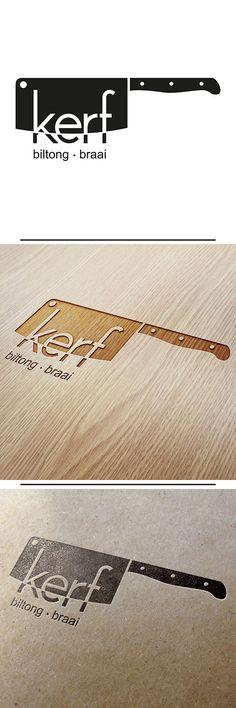 KERF Biltong and Braai Shop Logo Design by O'Brien Design