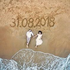 10 Awesome, Creative and Memorable Wedding Guest Book Ideas is part of Beach wedding photos One of the most important thing at the advent of married life is the blessings and good words bestowed upo - Pre Wedding Poses, Pre Wedding Shoot Ideas, Wedding Couple Poses Photography, Indian Wedding Photography, Pre Wedding Photoshoot, Wedding Couples, Wedding Bride, Wedding Dress, Wedding Inspiration