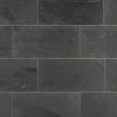 BuildDirect – Slate Tile – Montauk Black