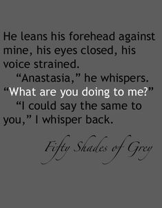 Are you love christian grey