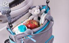 Każda mama wie, że torba musi być pojemna!  #torba #mama #tata #dziecko #baby #bags #toys