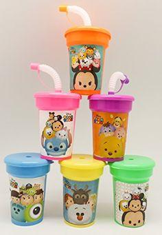 TSUM TSUM by Disney Cups 6 pack Sipper Favor Cups Birthda... https://www.amazon.com/dp/B01I5ZWYQY/ref=cm_sw_r_pi_dp_x_VR-OxbFHQ19QG