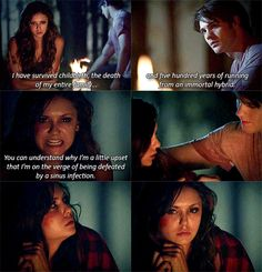 "#TVD 5x02 ""True Lies"" - Katherine & Jeremy"