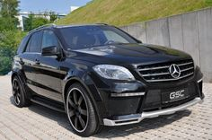 Mercedes-Benz ML-Class by  German Special Customs (Widebody-ML) #mbhess #mbcars #mbtuning #gsc