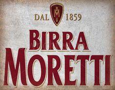 BIRRA MORETTI ITALIAN BEER METAL ADVERTISING PLAQUE METAL TIN SIGN POSTER