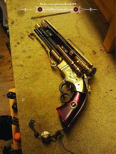Steampunk pistol 01 lhs 01 01   Flickr - Photo Sharing!