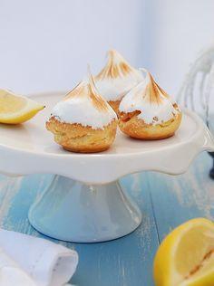 Choux au citron meringués