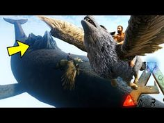 cool Ark Survival Evolved - EPIC HYBRIDS, FLYING MOUNTAIN BACK WHALE, ASTERIA MAP - Ark Modded