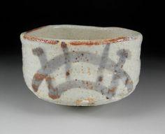 Vintage EShino ware Chawan by Koedo on Etsy, ¥4900