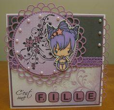 * Baby Girl Card *