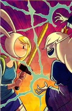 Adventure Time with Fionna & Cake #4 1:25 Variant @ niftywarehouse.com #NiftyWarehouse #AdventureTime #TVShow #Cartoon #Show #CartoonNetwork