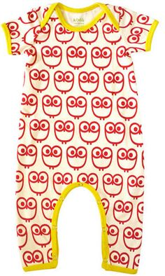 NEED this owl romper for the baby!
